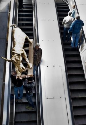 Golden Calf in Metro - Washington Post