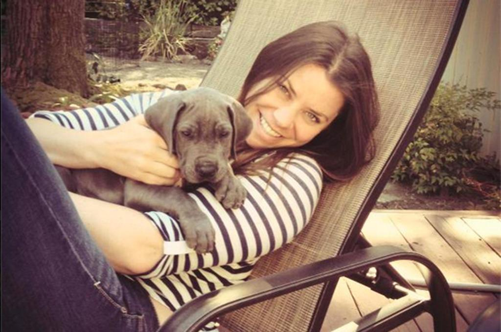 Brittany Maynard with Dog