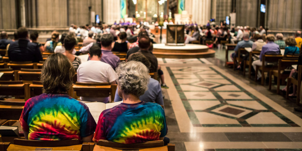 Washington National Cathedral Holds Prayer Service For LGBT Families