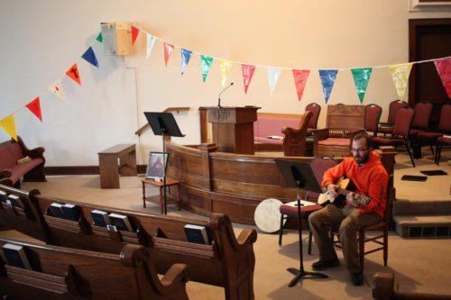 Worship Space at Friends of Jesus Fellowship Spring Gathering 2016