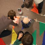 Making Prayer Flags