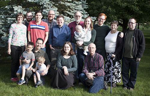 Friends of Jesus Fellowship Spring Gathering 2016 Group Photo