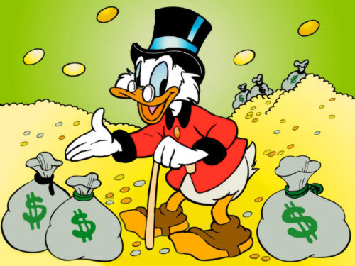 Confronting My Inner Scrooge McDuck