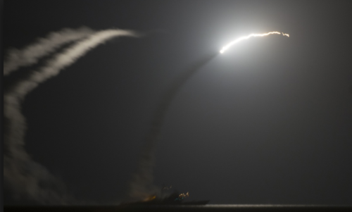 There Will Be No Tomahawk Missiles in the Kingdom of God