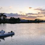 Sunset on the Estuary near Alameda, California
